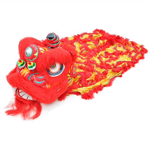 Lion dance costume Chinese lion costume u2013 Red u0026 Gold  sc 1 st  Lion Dance Costume & Lion dance costume Chinese lion costume - Red u0026 Gold