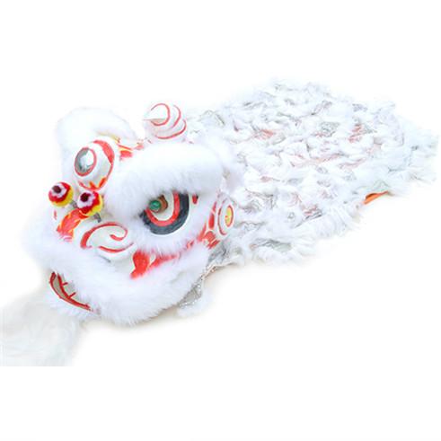 Lion dance costume lion dance shop - White u0026 Silver