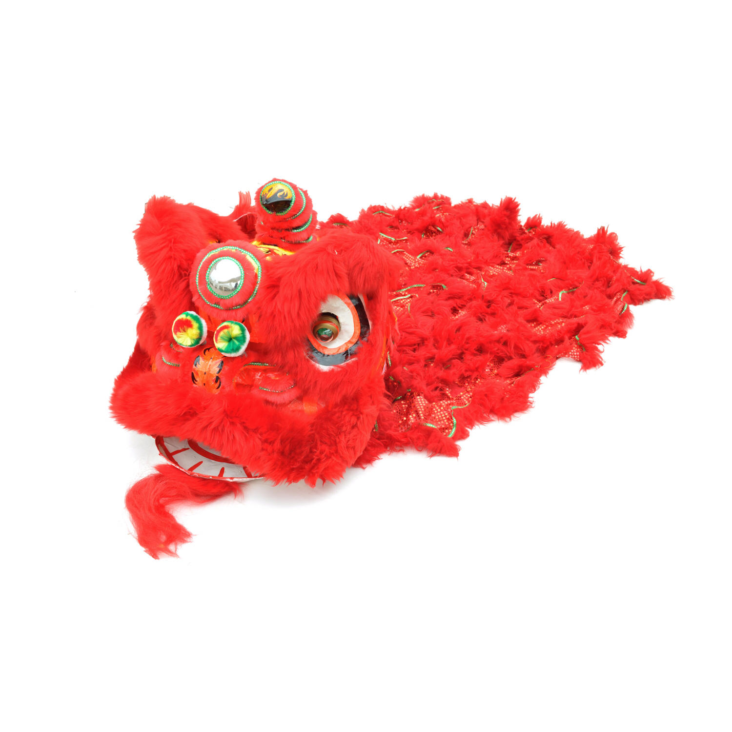 74adf0529 ... costume Chinese lion dance – Red & Red. Sale!